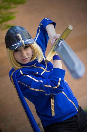 Mysterious Heroine X from Fate/Grand Order by Artoria Grey Cosplay