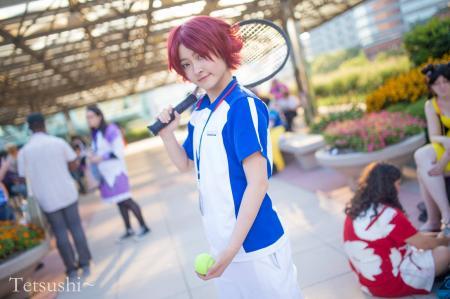 Eiji Kikumaru from Prince of Tennis