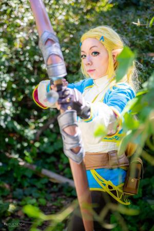Zelda (Legend of Zelda: Breath of the Wild)  by yoko-tsuki