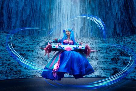 Sona from League of Legends by RinAngel