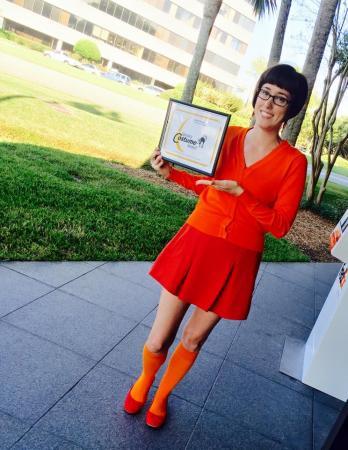 Velma Dinkley (Scooby Doo)  by PixieDark