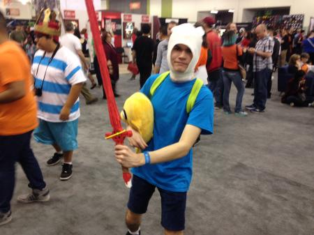 Finn (Adventure Time with Finn and Jake)  by Loxytocin